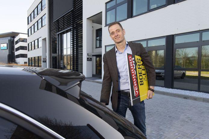 Bedrijfsmakelaar Bart Wientjes van Boers & Lem: Mensen zijn huiverig voor bezichtigingen.