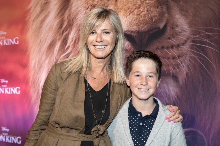 """""""'The Lion King' is onze favoriete film, dus de verwachtingen zijn hooggespannen"""", aldus Inge Moerenhout die neefje Alec meenam."""