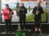 Maureen (13) uit Enschede en haar hondje Woezel zijn kampioen behendigheid