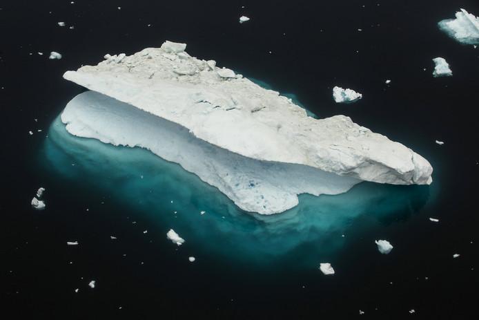 Un glacier au Groenland
