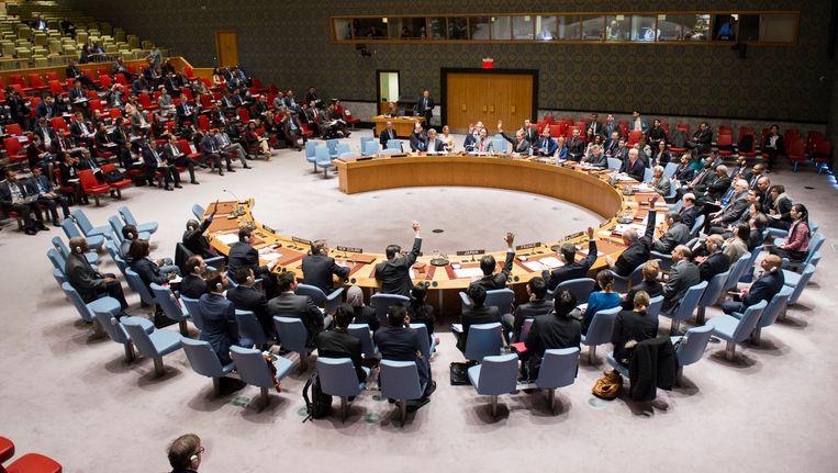 De VN-Veiligheidsraad.