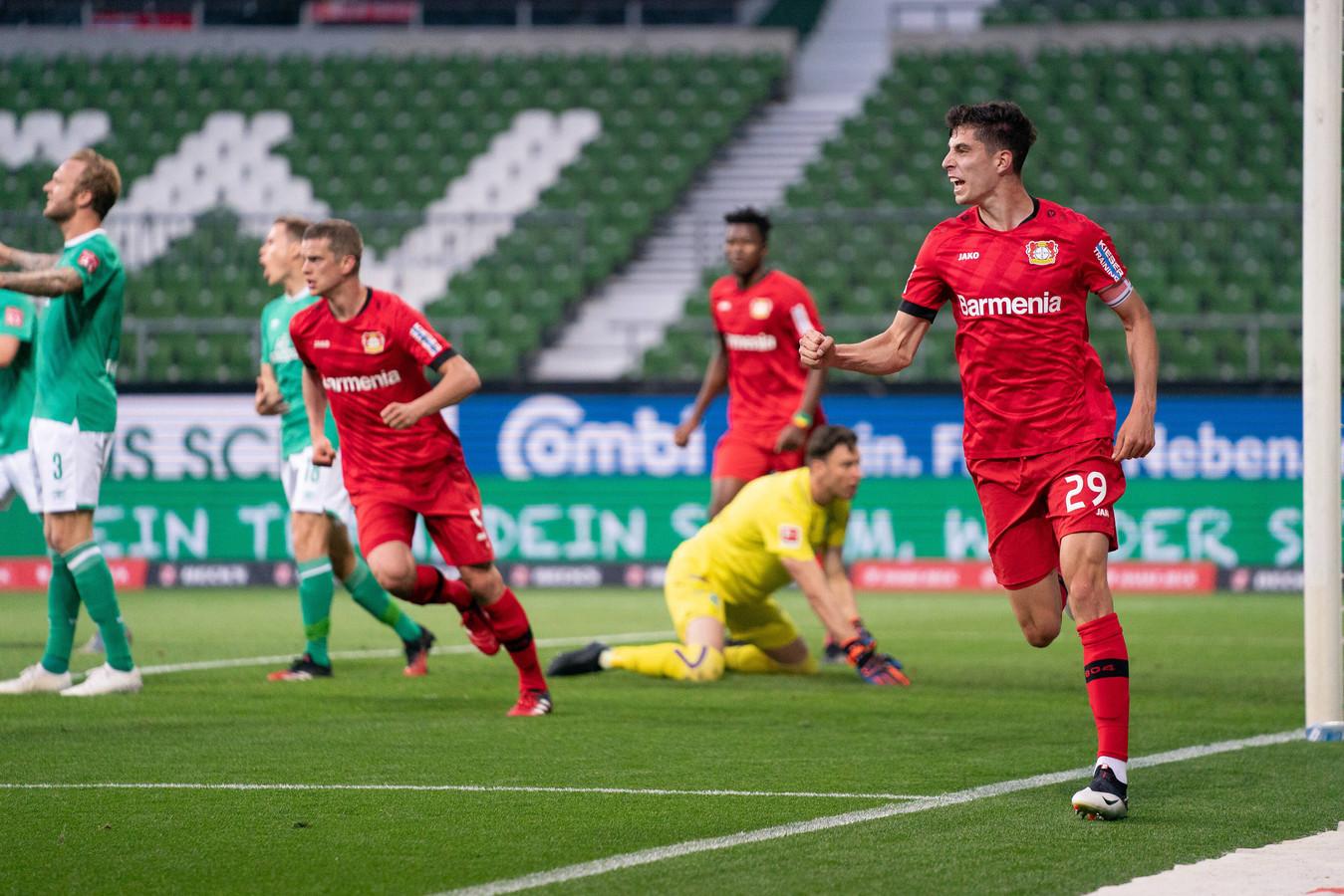 Kai Havertz, maker van twee doelpunten.