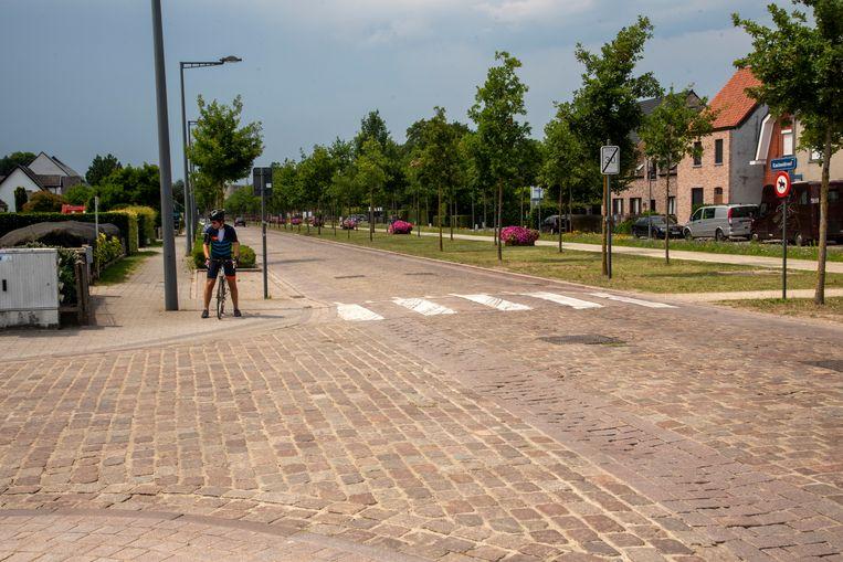 Het kruispunt van de Kasteeldreef en de Hoogstraat gaat dicht voor werken.