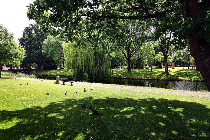 Bij de vernieuwing van het stadspark heeft de Steenbergse gemeenteraad keuze uit drie varianten.