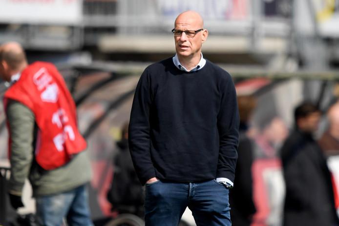 Trainer Klaas Wels ligt met TOP Oss op koers voor de play-offs.