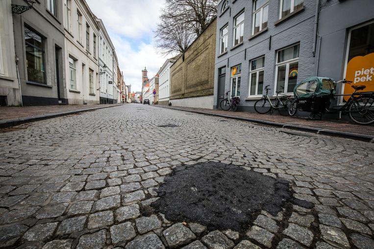 De Katelijnestraat wordt heraangelegd, en dat is dringend nodig.