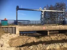 Water stroomt weer door Berkel na leidingbreuk