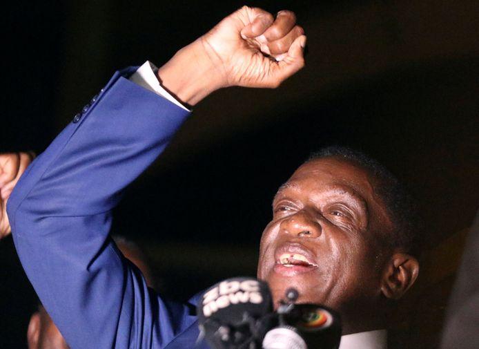 Emmerson Mnangagwa wordt morgen de nieuwe president van Zimbabwe.