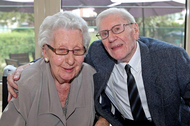 Min van den Bergh (88) en Maurice Reyniers (91) waren op 28 juni 2019 65 jaar getrouwd