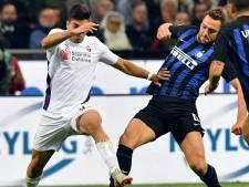 Inter stijgt naar vijfde plaats na zege op Fiorentina