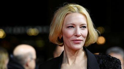 "Cate Blanchett heeft ""klein"" ongeval met kettingzaag: ""Alles oké"""