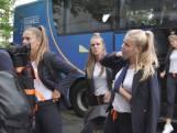 Oranje Leeuwinnen komen aan in Le Havre