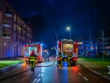 Man die zwaargewond raakte bij brand in appartementencomplex Goirle overleden