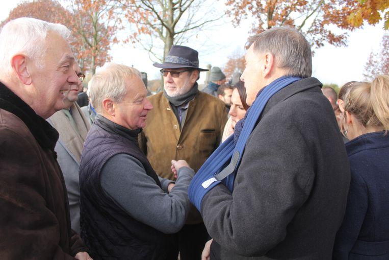 Ex-speurder Freddy Troch met Jef Vermassen.
