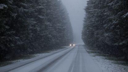 In de Ardennen nog kans op sneeuw, maar elders zachter en meestal droog