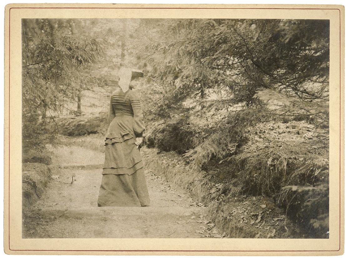 Een van de foto's van Mata Hari.