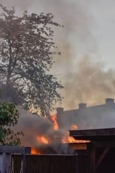 Nieuwe veranda brandt af in Westerhaar-Vriezenveensewijk