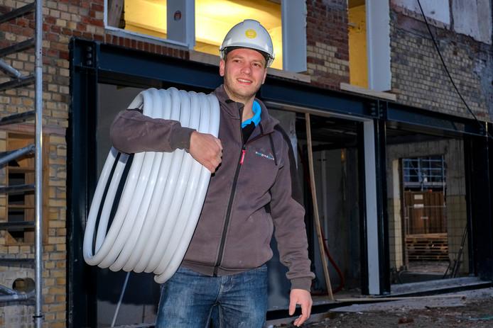 Erik Bouwmeester (29, Linschoten) is loodgieter/installateur.