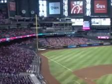 Virtueel publiek voor tv-kijker bij baseball