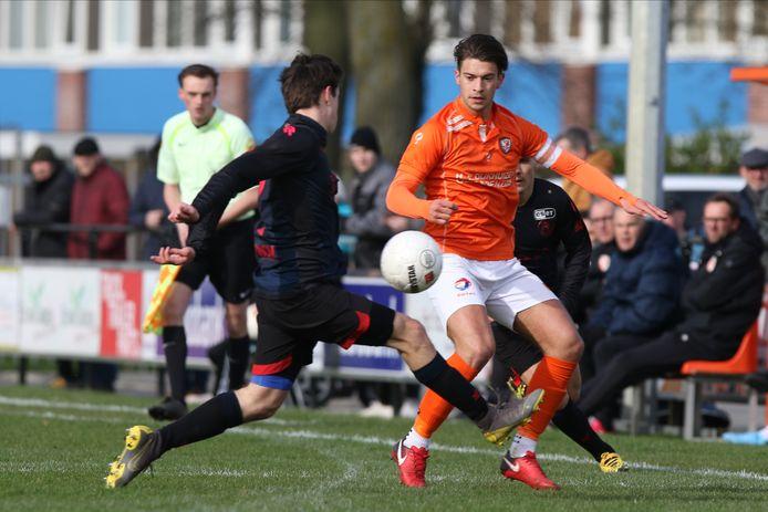Bart Westerlaken voetbalt volgend seizoen bij Achilles Veen, de huidige nummer vier van de hoofdklasse.