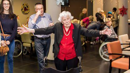 Aline Goovaerts viert 100ste verjaardag