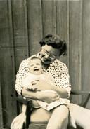 Agaath Melman met dochter Lindy in Sydney