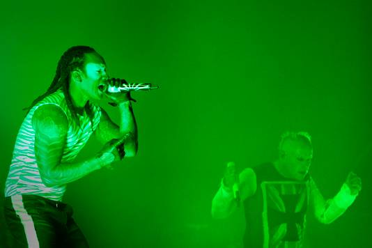 The Prodigy in 2015 tijdens We Are Electric.