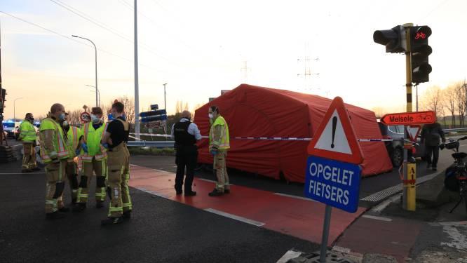 Fietser kritiek na aanrijding op viaduct over E34, net werken bezig voor veiligere fietspaden
