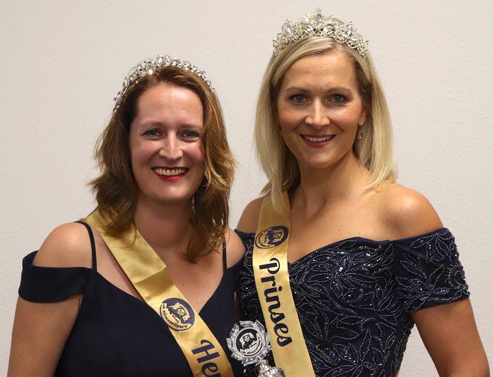 Hertogin Josje en Prinses Debby van het Kelerijk in Reek.