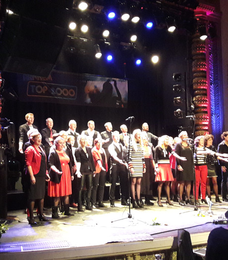 Duivens koor wint Top 2000-concours Arnhem