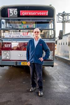 Deze Schiedammer reed jarenlang op lijn 56 in Vlaardingen: 'Zelfs mijn vrouw in de bus ontmoet'