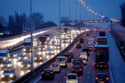 Avondspits vooral druk op snelwegen rond Rotterdam