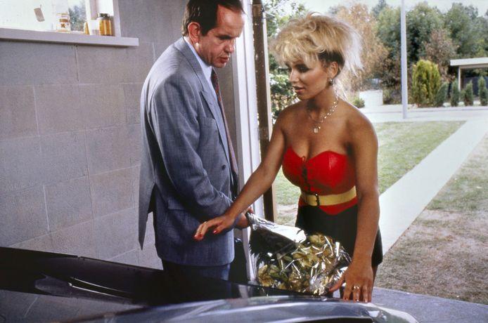 Tatjana Simic als Kees in een scene uit de speelfilm Flodder 1.