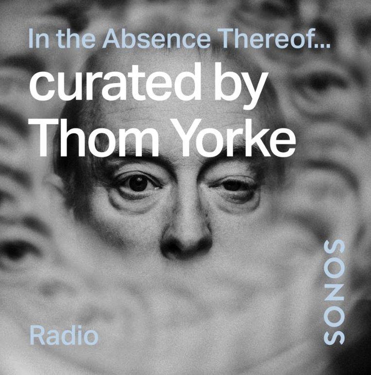 Een radiostation met favoriete nummers van Thom Yorke Beeld Sonos