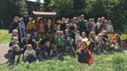 Unicum in Klavertje 4: Césanne is 50ste kleuter in Oombergen