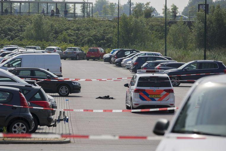 Bij een schietpartij in 2017 op de parkeerplaats bij station Breukelen werd crimineel Jaïr Wessels doodgeschoten. Kroongetuige Tony de G. was betrokken bij deze liquidatie. Beeld ANP