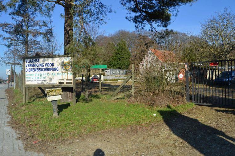 Het vroegere dierenasiel van de VVDB