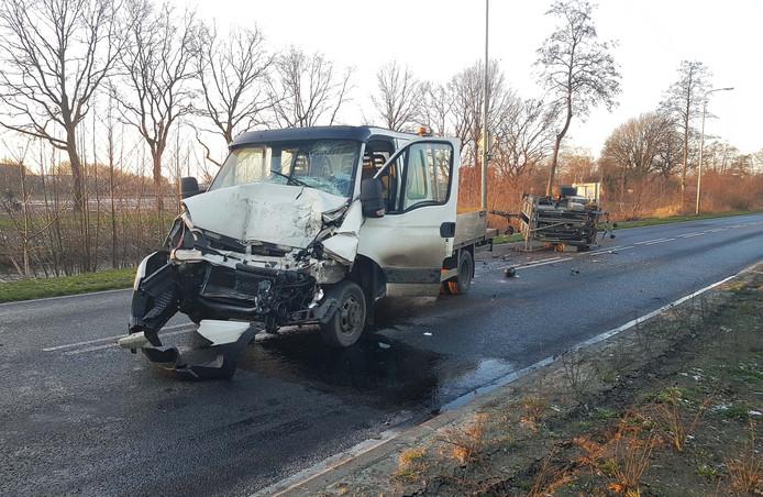 Het ongeval vond plaats op de N377 bij De Krim.