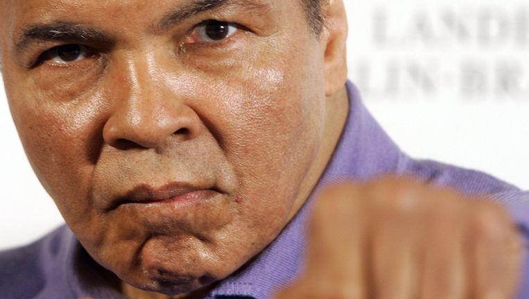 Muhammad Ali in 2005 Beeld afp