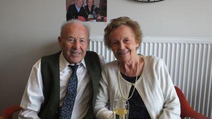 Roger en Odette vieren 65 jaar huwelijksgeluk