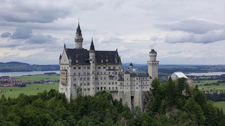 Slot Neuschwanstein in Duitsland.