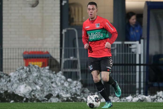 NEC-speler Morad el Haddouti.