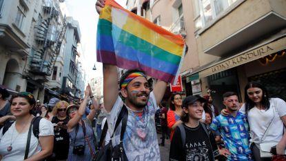 Politie verhindert al voor vierde jaar op rij Gay Pride in Turkije
