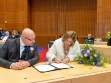 Dennis (40) en Margareth (43) uit Meppel zijn na vijftien jaar eindelijk getrouwd