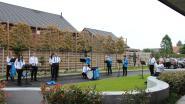 Koninklijke Harmonie Sint-Cecilia verrast bewoners WZC De Linde met optreden voor Moederdag