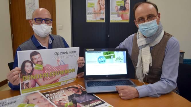 123.000 euro naar lokale economie via digitale Denderleeuwbon