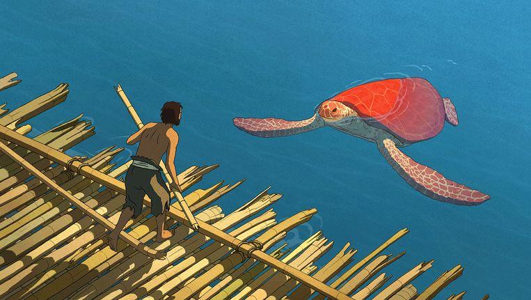 The Red Turtle van Michael Dudok de Wit. Beeld