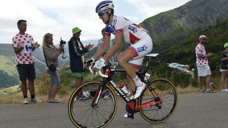 Alexandre Geniez greep gisteren al de macht in de Ronde van de Ain.