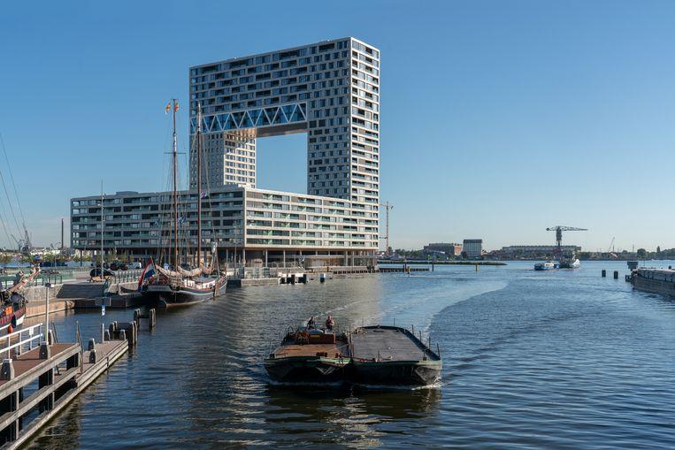 De Pontsteiger, Amsterdam. Beeld Ossip van Duivenbode