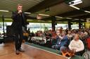 Willy Sommers zong in oktober ook al op de koffietafel van burgemeester Alain Pardaen.